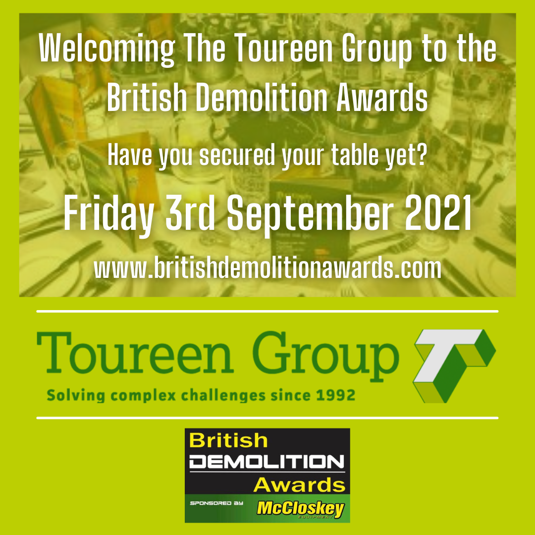 Welcoming The Toureen Group to The British Demolition Awards